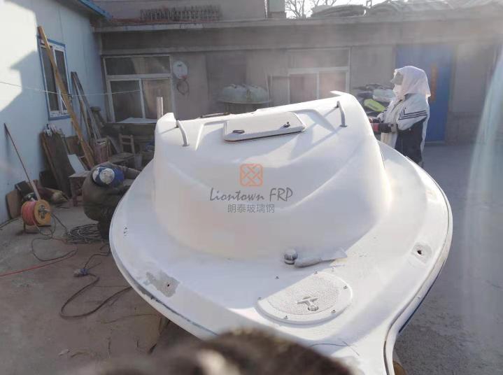 沈陽玻璃鋼游艇修補