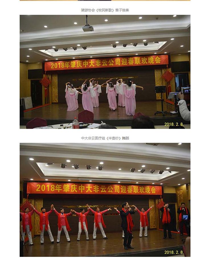 2018年肇庆市中大非云投资开展无限公司迎对联欢晚会