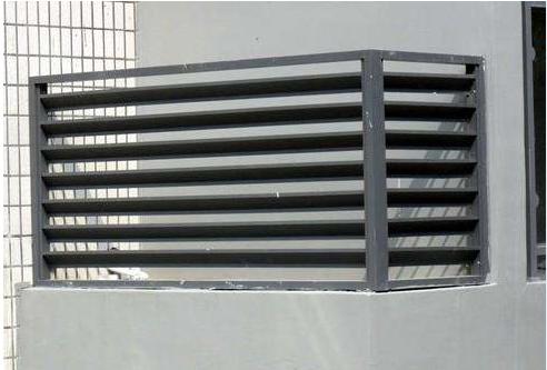 阳台空调锌钢栏杆