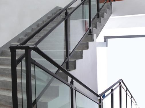 楼梯户外锌钢栏杆