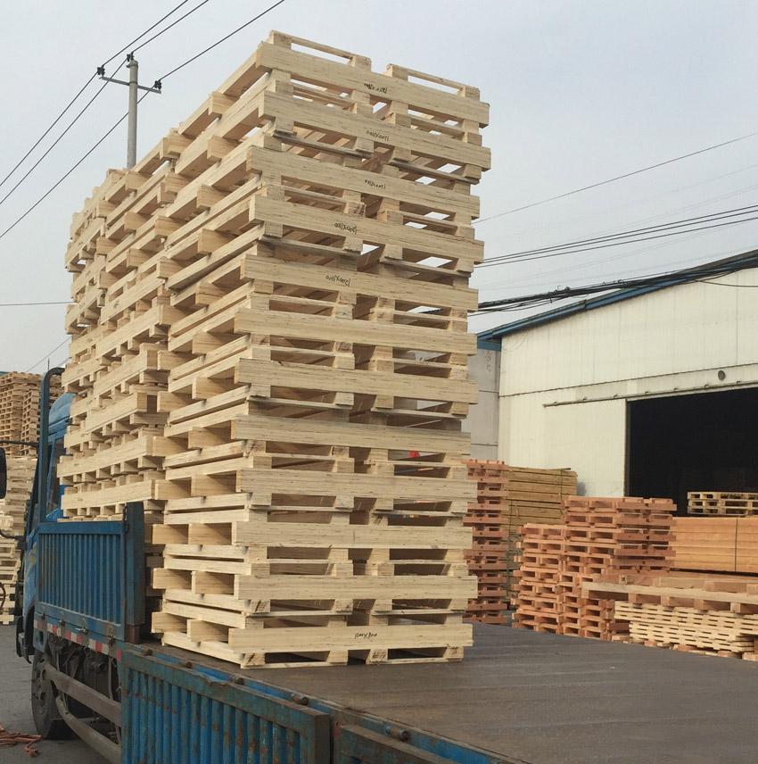 胶合板木架