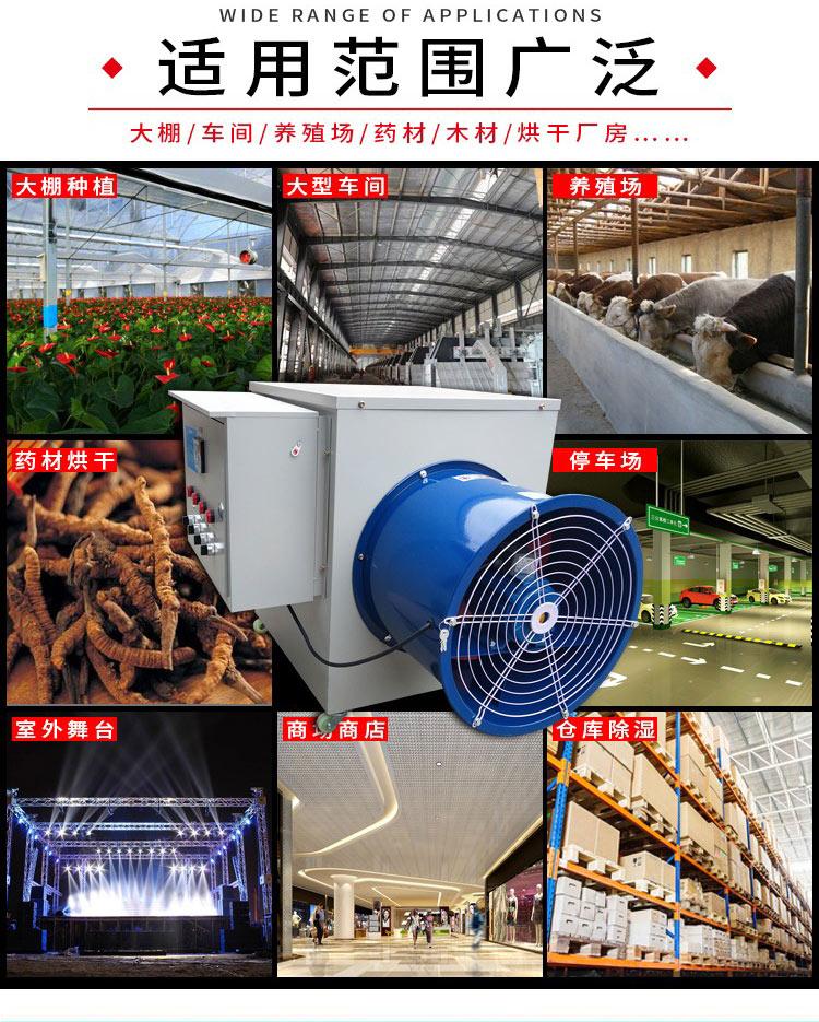 全自动温控电热风机