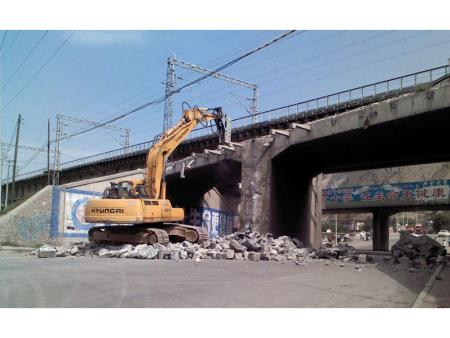 河北桥梁拆除工程