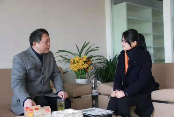 董事长郭戈教授访问中国木业网和杭萧钢构股份有限公司