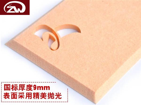 聚酯纤维吸音板