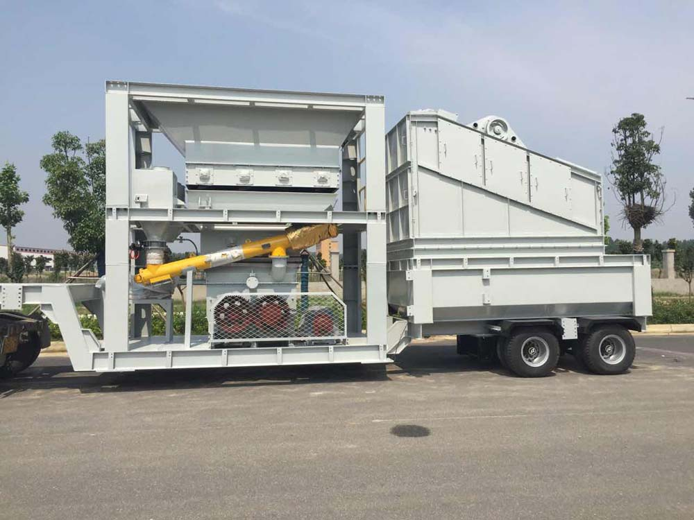 Mixing Building Mobile Module