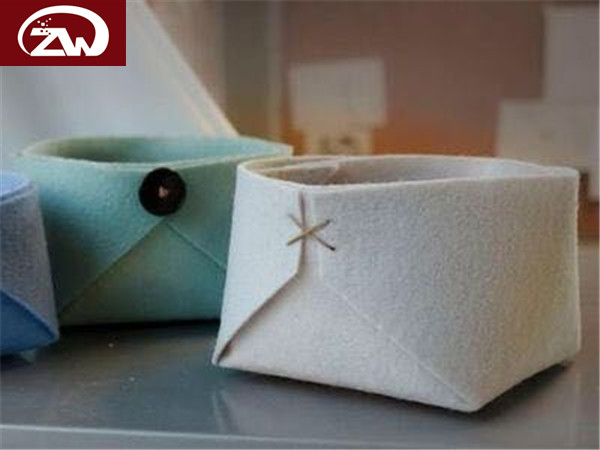 羊毛毡收纳盒