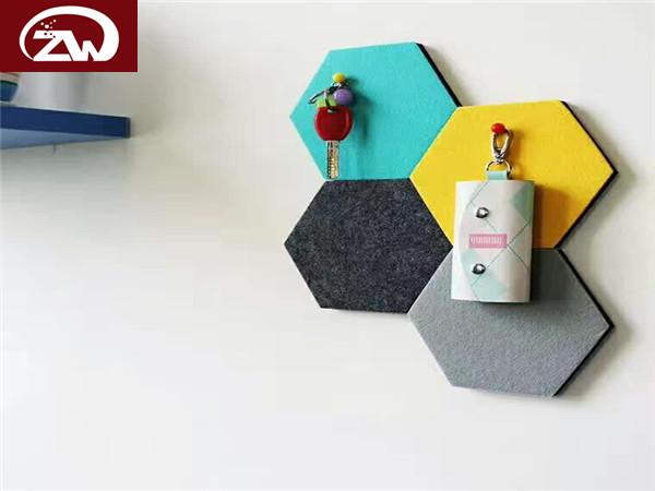 羊毛毡装潢板墙