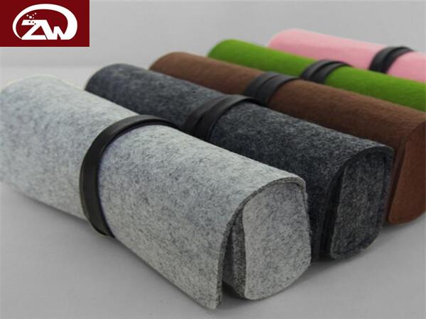 彩色羊毛毡包