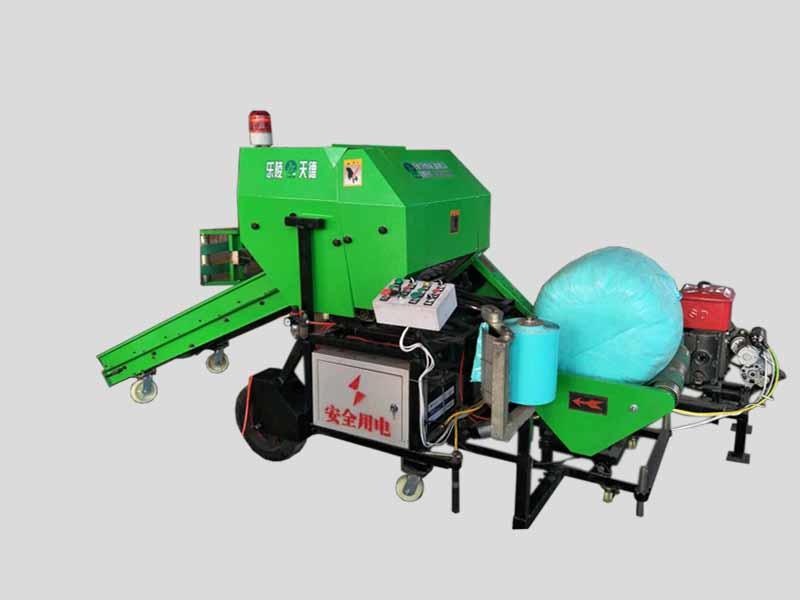 青贮打捆包膜(柴油机)一体机