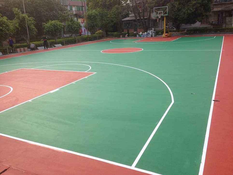惠州弹性丙烯酸球场