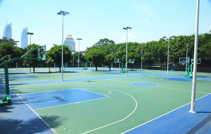 惠州硅pu篮球场施工