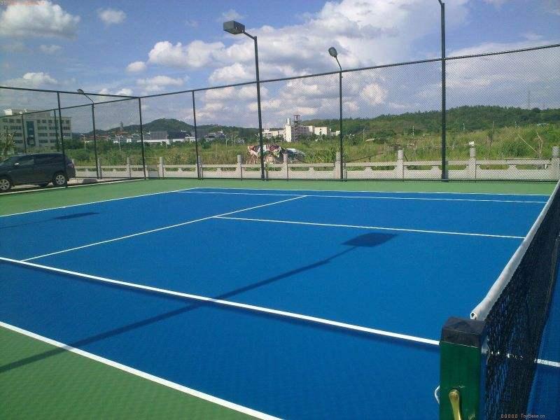 惠州硅pu球场施工