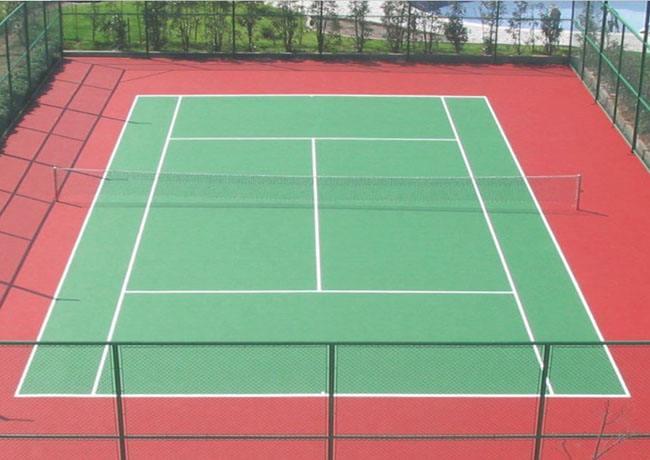 惠州硅pu羽毛球场施工
