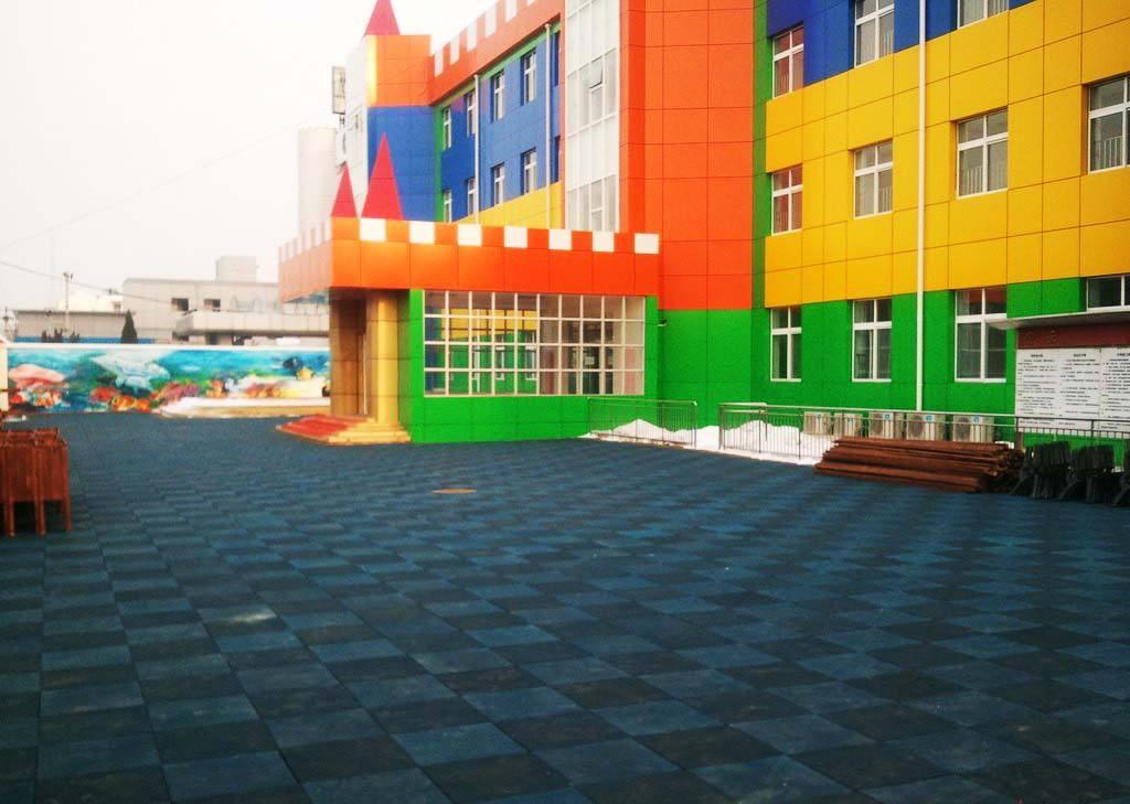 惠州儿童安全地垫施工