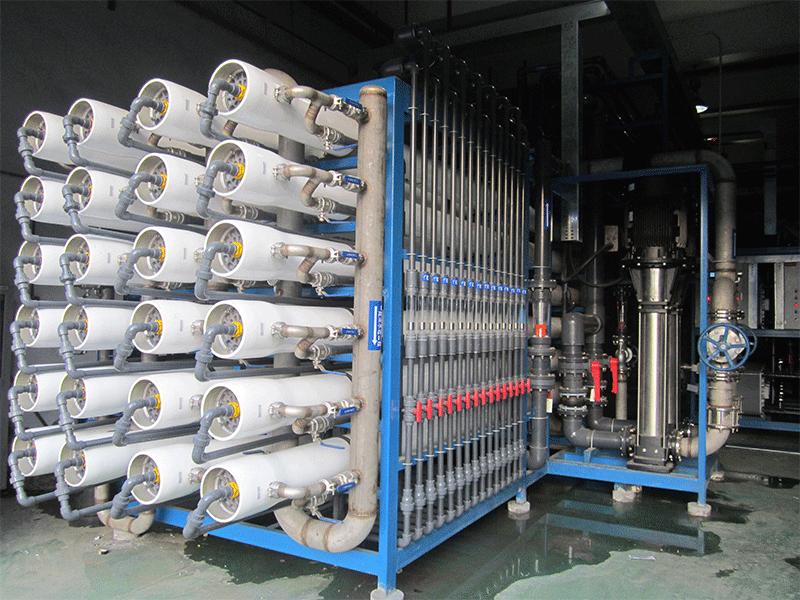 纯水服务项目:中水回用设备