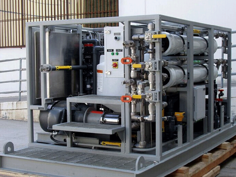 纯水服务项目:海水淡化