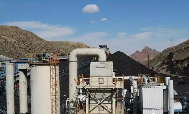 选煤设备降温