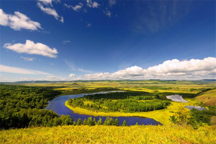 額爾古納濕地