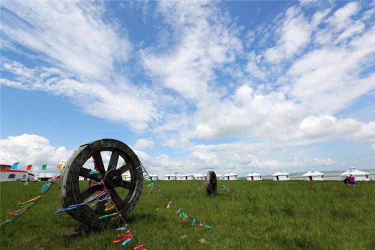 蒙古人的勒勒車