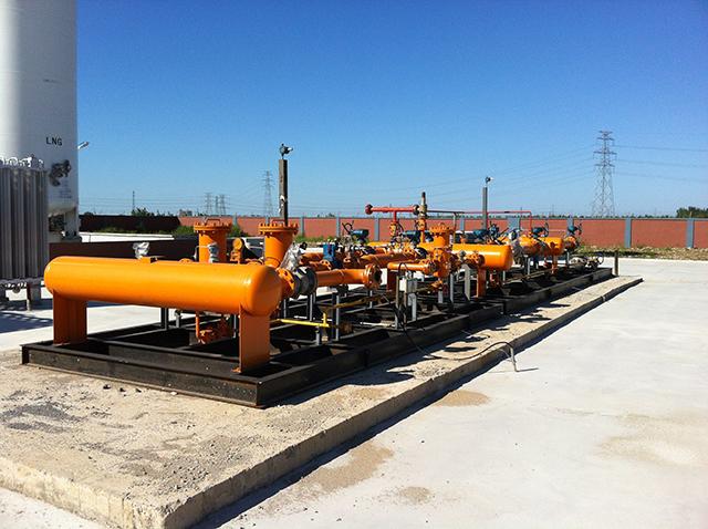 營口液化天然氣LNG儲備站