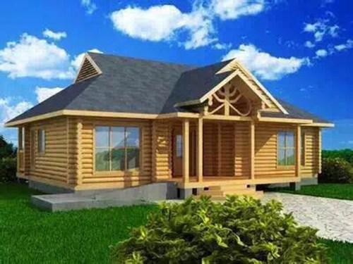 石家庄防腐木木屋