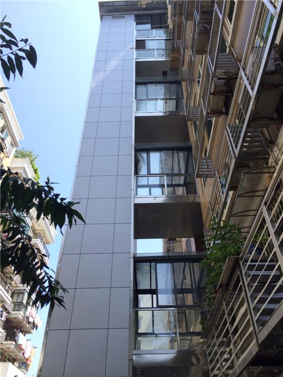 商丘永城市明珠花園小區電梯井道加裝項目
