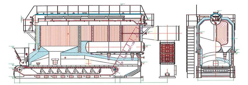 SZL系列蒸汽热水锅炉