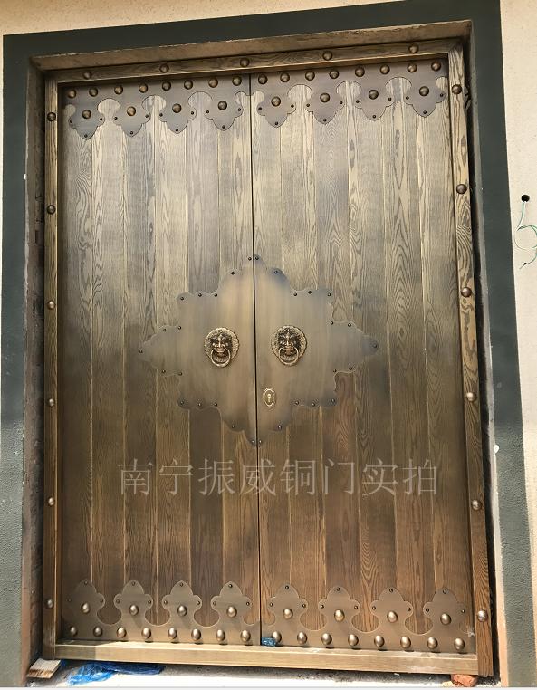 广西铜门安装