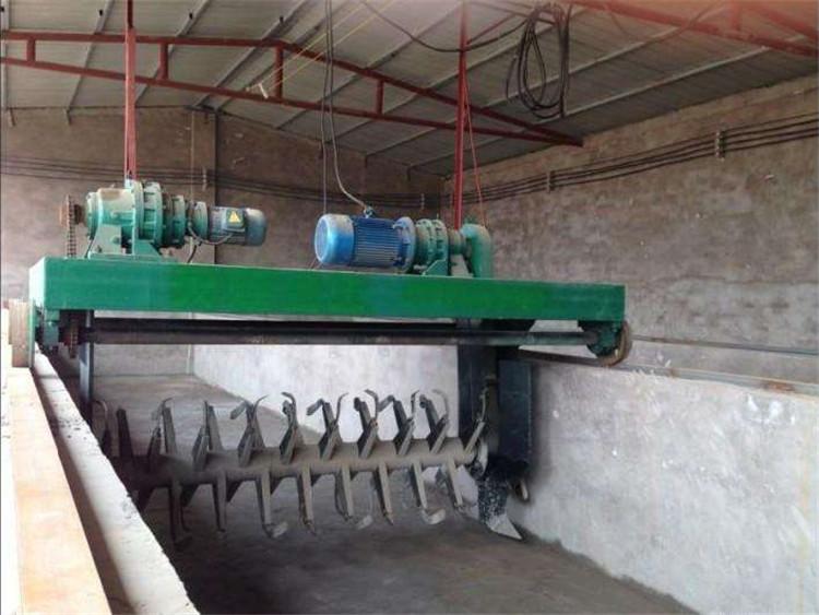 牛粪发酵有机肥设备