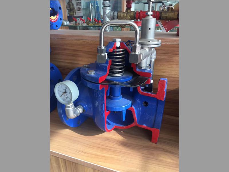 减压阀内部结构-上海汉克