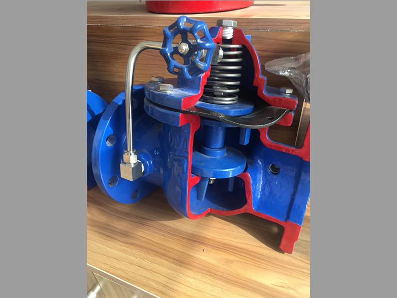 水力控制阀内部结构-汉克阀门