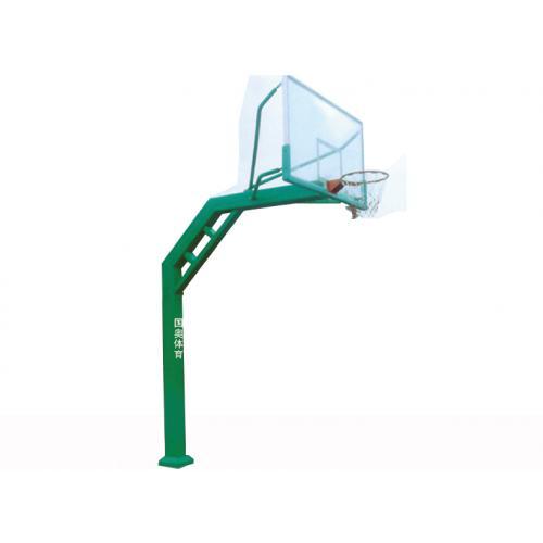 方管固定篮球架