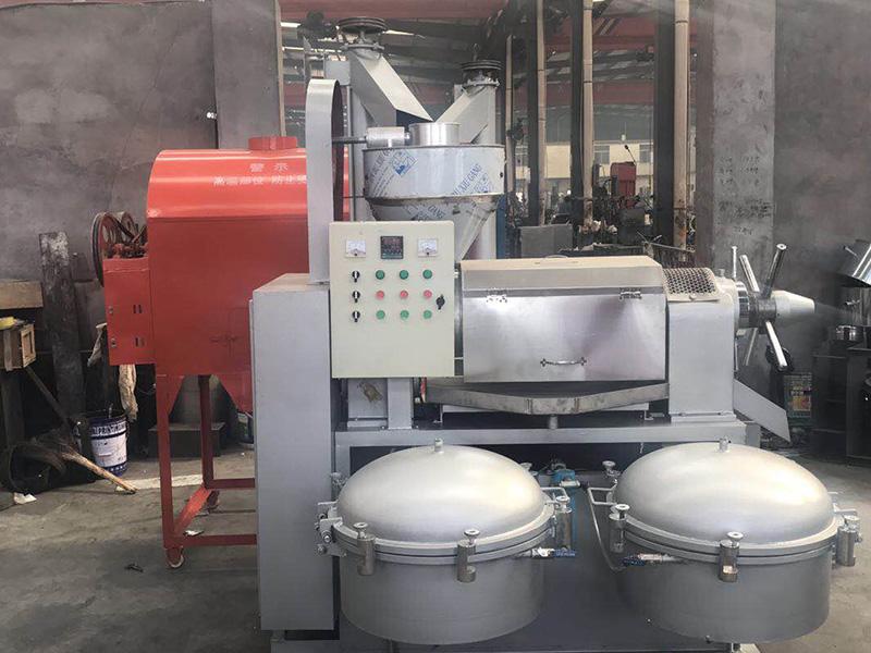 6YL-120全自动组合榨油机