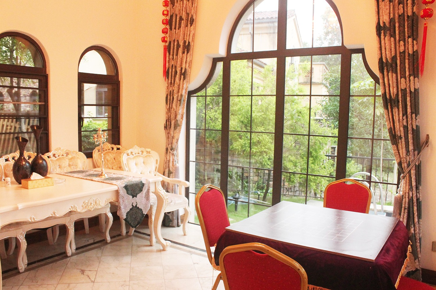 Where is Guangzhou villa recommended for fun