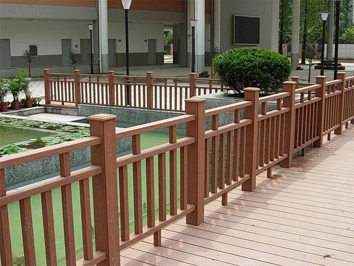 宁夏防腐木护栏