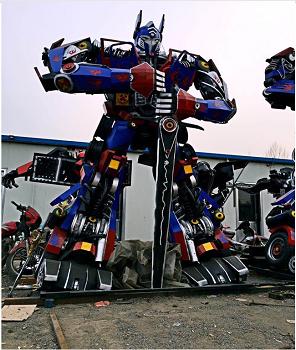 天津擎天柱模型厂家