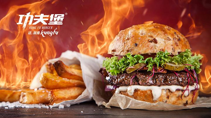 汉堡店生意火爆