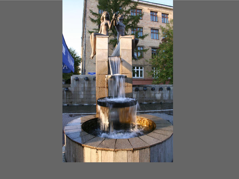 哈尔滨雕塑跌水