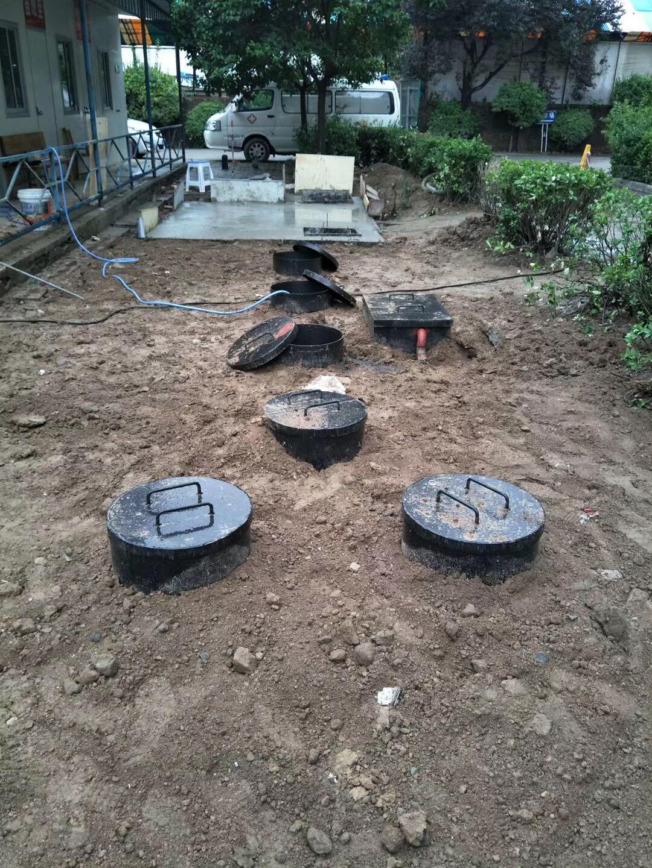 小型一体 化地埋污水处理设备