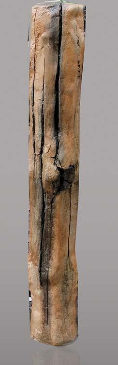 手工水泥仿木栏杆制作分解图