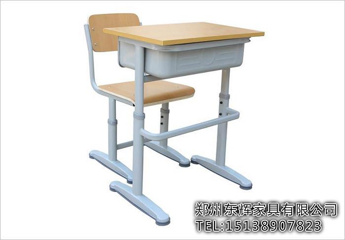 驻马店单人固定课桌椅