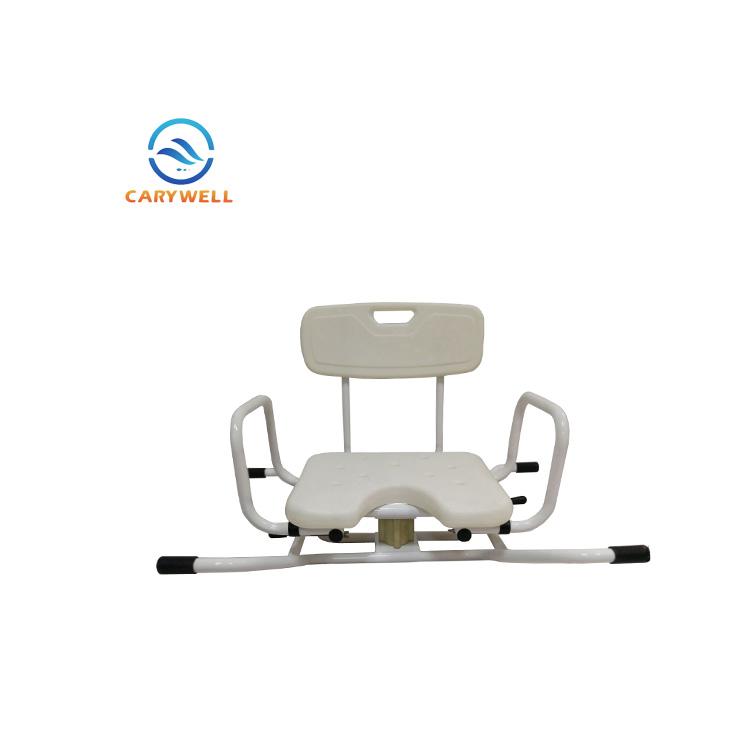Bathtub swivel seat