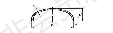 椭圆封头直径与高度的关系