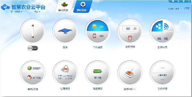 农林物联网监测系统平台