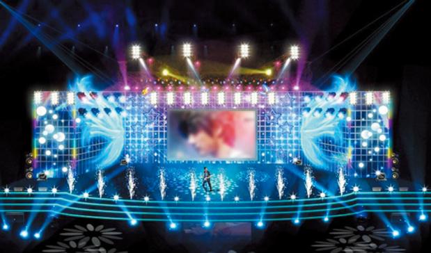 舞台灯光音响系统
