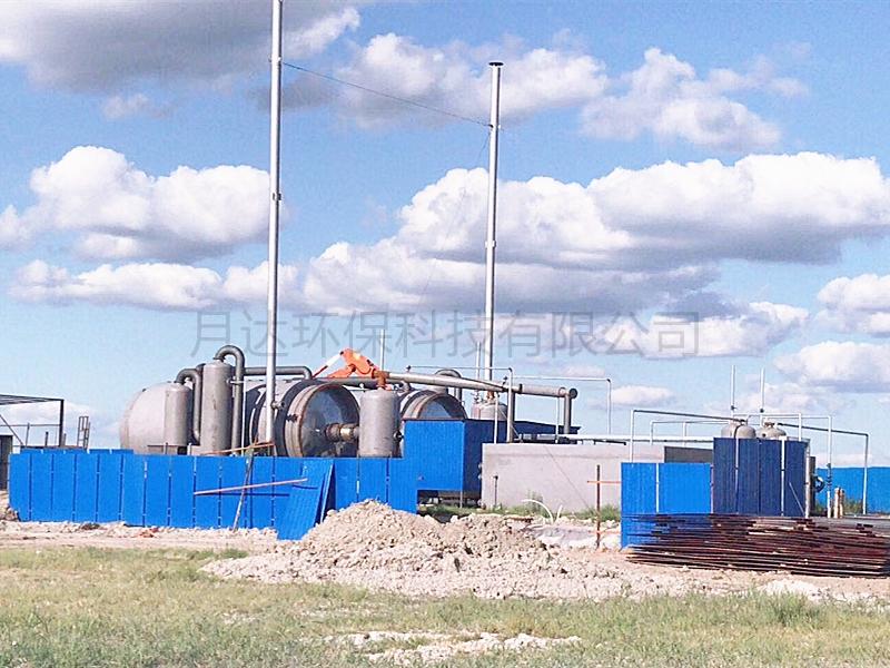 商丘廢輪胎煉油設備