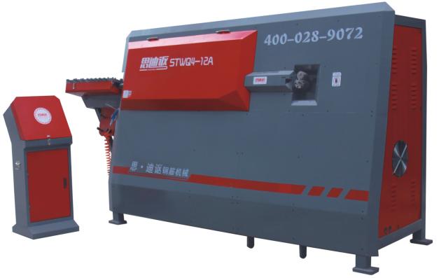 STWQ4-12A数控钢筋弯箍机