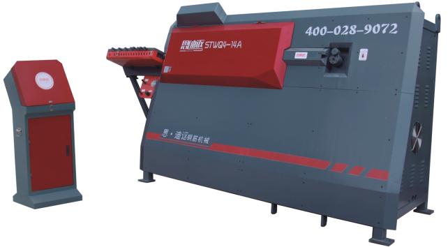 STWQ4-14A数控钢筋弯箍机
