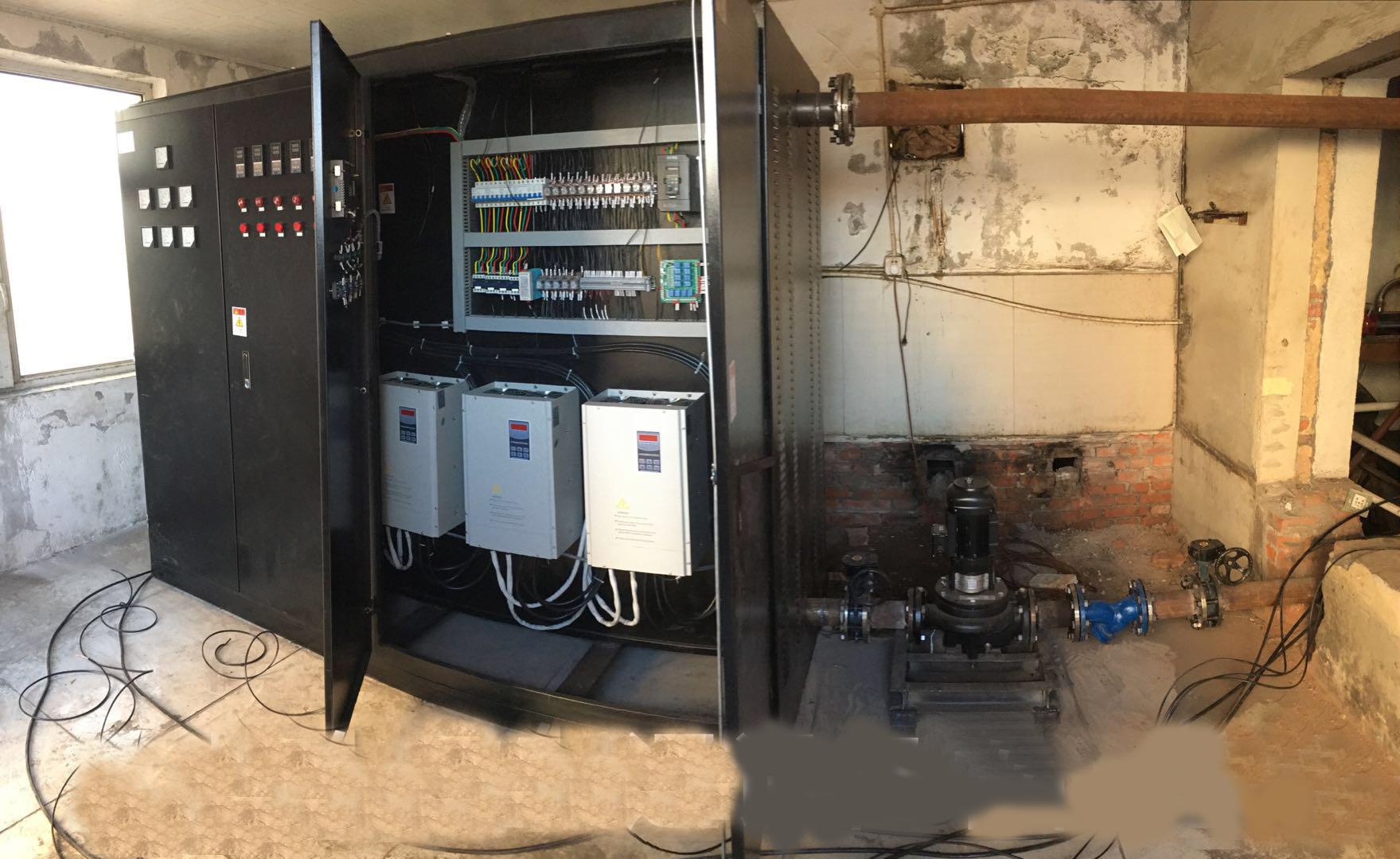 吉林市某商砼站300KW电磁采暖